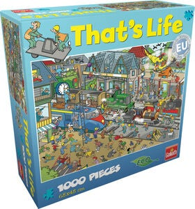 Goliath Games Puslespill That's life - Train Stat 1000 Brikker