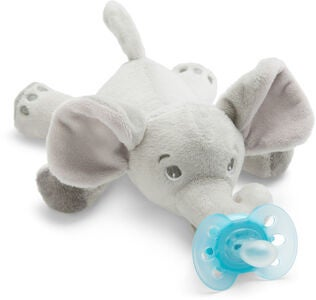 Philips Avent Smokk med Kosedyr Ultra Soft Elefant