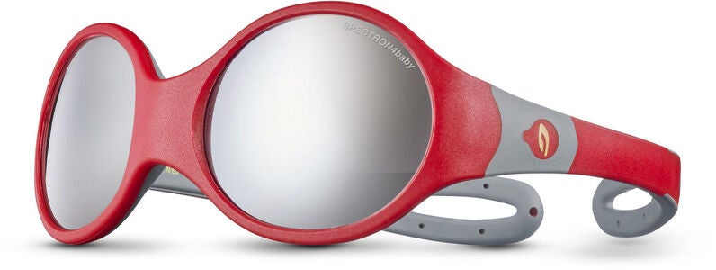 Julbo Loop L Spectron 4 Baby Solbriller, Red/Grey