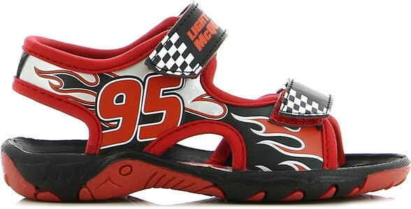 Disney Cars Sandal, Red/Black
