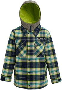 Burton Boys Uproar Jakke, Northeastern Plaid