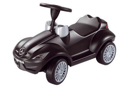 Bobby Car Benz Svart