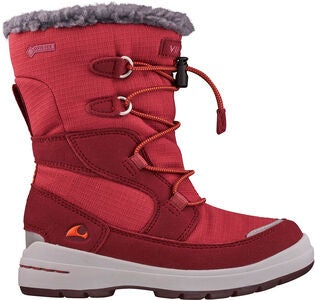 Viking Totak GTX Vintersko, Dark Red/Red