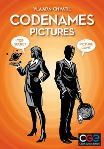 Codenames: Pictures Familiespill