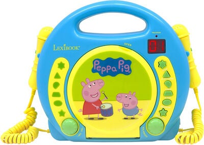 Peppa Gris CD-spiller