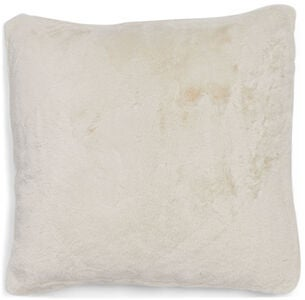 Furry Pute 45x45, Cream