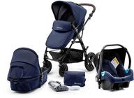 Kinderkraft Multipurpose 3-i-1 Moov Travelsystem, Navy