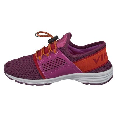 Viking Drag Sneaker, Fuchsia/Orange