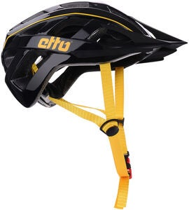 Etto Champery Jr MIPS Sykkelhjelm, Black/Yellow