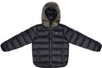 Champion Kids Hooded Vinterjakke, Black Beauty