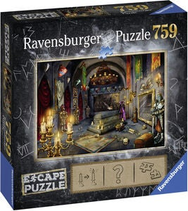 Ravensburger Puslespill Escape 6 Knight's Castle 759 Brikker