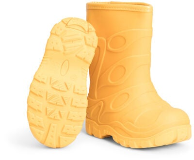 Little Champs Tough Fodrad Gummistøvel, Yellow