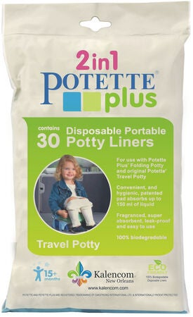 Potette Plus Absorberende Engangsposer 30-Pack
