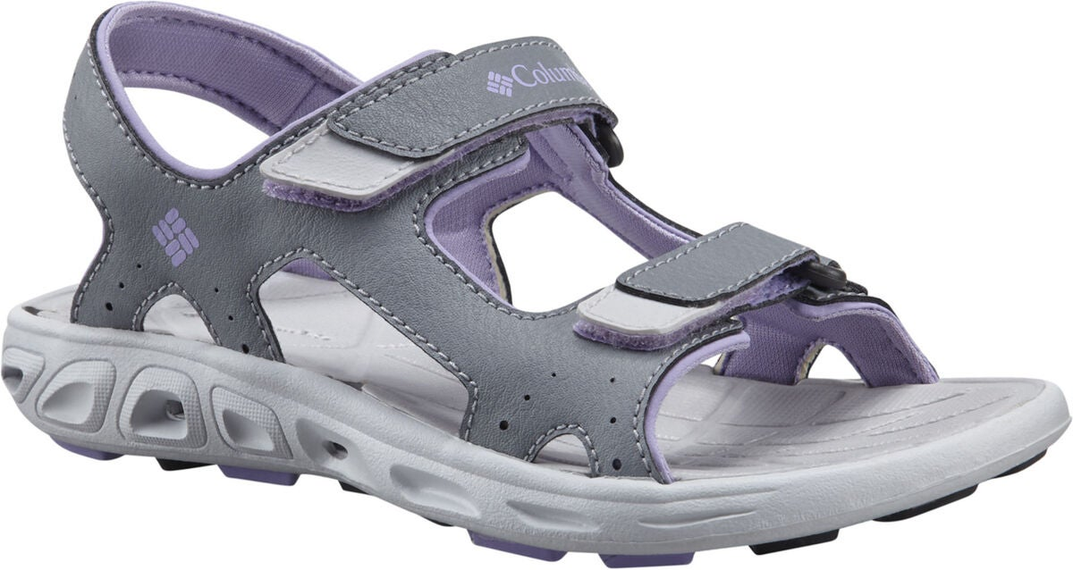 Columbia Children's Techsun Sandal, Grey/White Violet