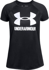 Under Armour Big Logo Tee Solid SS Treningstrøye, Black