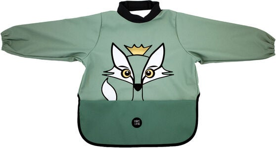babyLivia Langermet Smekke Fox, Powder Green