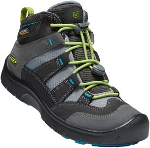 KEEN Hikeport Mid WP Sneakers, Magnet/Greenery