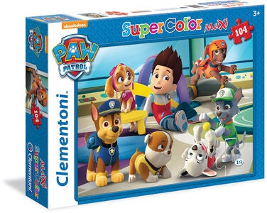 Paw Patrol Puslespill 104 Brikker