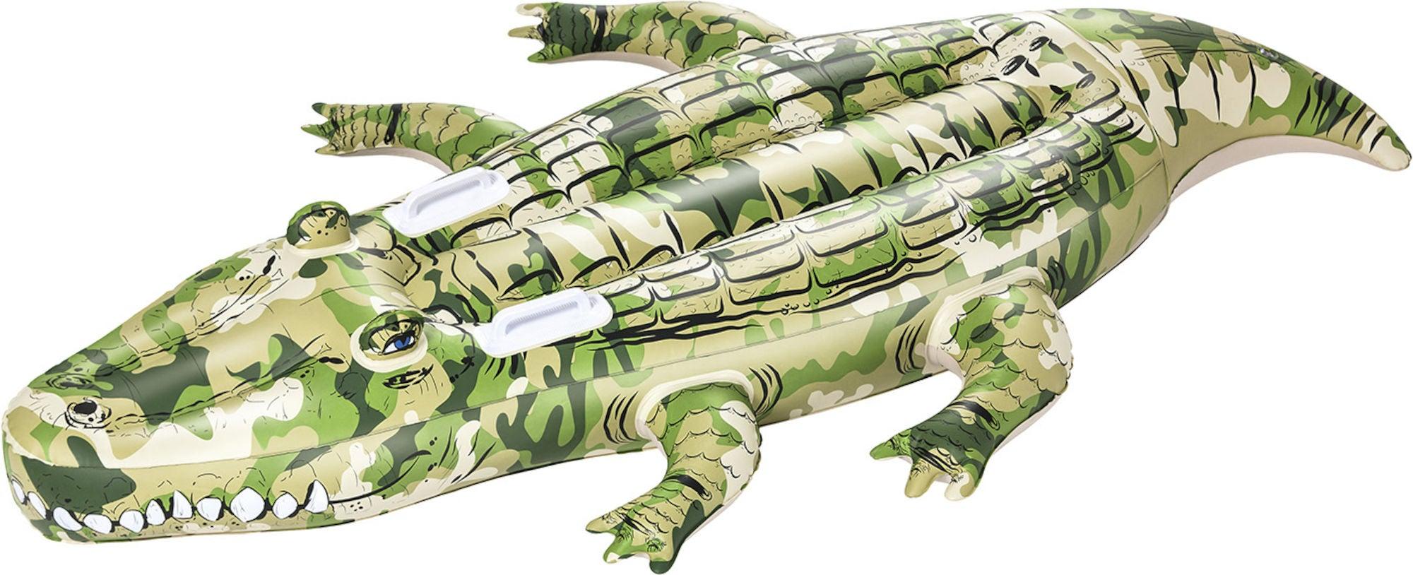 Bestway Badeleke Krokodille, Kamuflasje