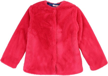 Billieblush Fake Fur Jakke, Cranberries