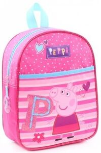 Peppa Gris Be Happy Ryggsekk 6L, Fuchsia