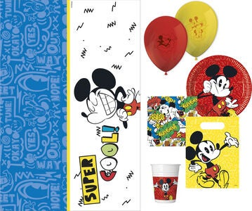Disney Mikke Mus Partypakke Super Cool