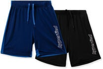 Hyperfied Flip Shorts 2-pack, Black/Blueprint