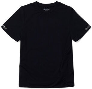 Hyperfied Jersey Knot Logo Top, Anthracite