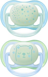Philips Avent Ultra Air Night Time Smokk 0-6m, Blå