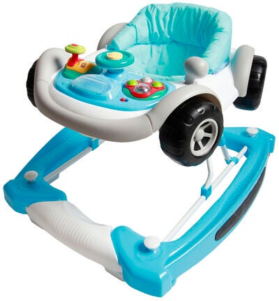 Moweo Speed Walker 2 in 1  Blue med Gyngefunksjon