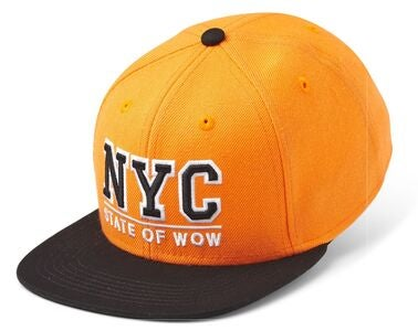 State Of Wow Toronto 2 Youth Snapback Cap, Orange/Black