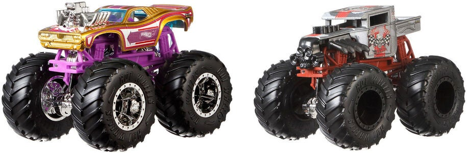 Hot Wheels Monster Trucks 1:64 2-pack