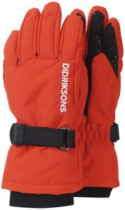 Didriksons Biggles Hansker, Poppy Red