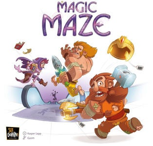 Magic Maze Familiespill