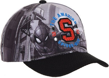 Marvel Spider-Man Kaps, Svart