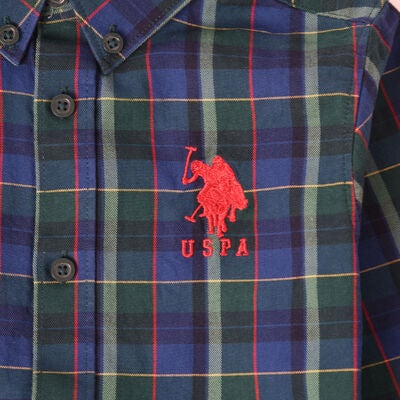 U.S. Polo Assn. College Skjorte, Botanical Green