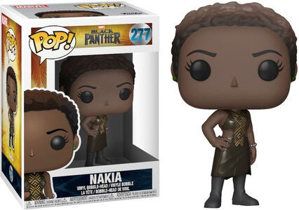 POP! Marvel Black Panther Samlefigur Nakia