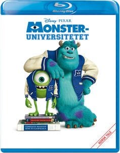 Disney Pixar Monsteruniversitetet Blu-Ray