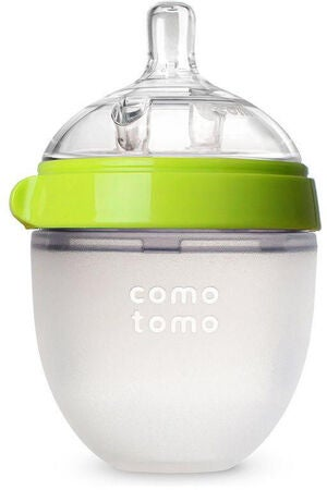 ComoTomo Natural Feel Tåteflaske 150ml, Grønn