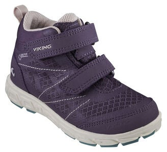 Viking Veme Mid GTX Sneaker, Purple/Bluegreen