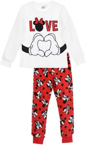 Disney Minni Mus Pysjamas, Off White