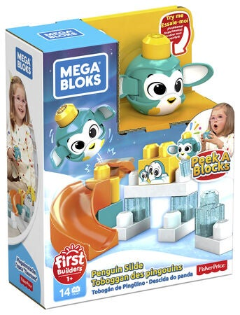 Mega Bloks Peek A Blocks Penguin Slide