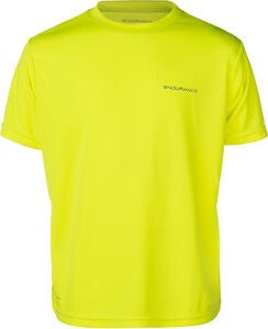 Endurance Vernon Performance T-Skjorte, Safety Yellow