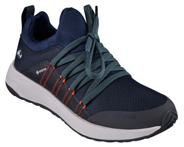 Viking Engenes GTX Sneaker, Navy/Orange