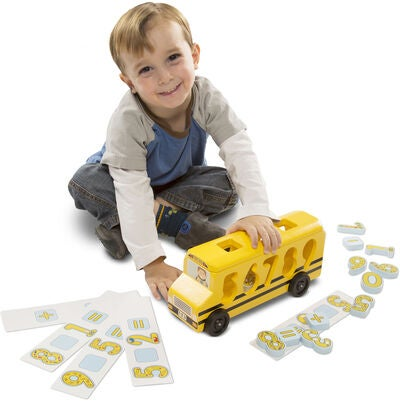 Melissa & Doug Aktivitetsleke Number Matching Maths Bus