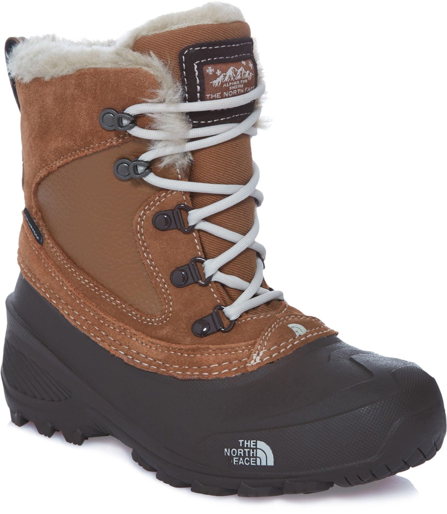 Kjøp The North Face Youth Shlista Extreme Vintersko, Brown