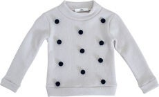 Ebbe Valerie Dot Genser, White-Navy Dot