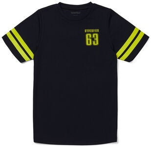 Hyperfied Back Logo T-Shirt, Anthracite