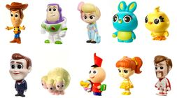 Disney Pixar Toy Story Minifigur Ultimate New Friends 10-Pack