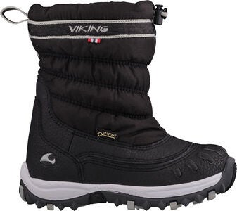 Viking Windchill GTX Vintersko, Black/Charcoal